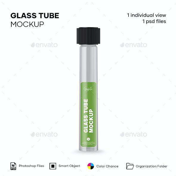 Glass Tube Mockup