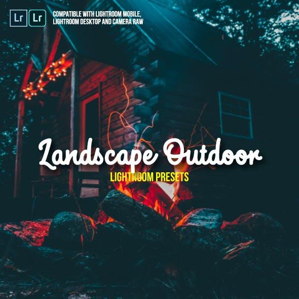 Landscape Outdoor Lightroom Presets for Mobile and Desktop