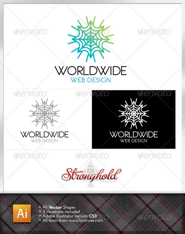 World Wide Web Logo Template - Nature Logo Templates