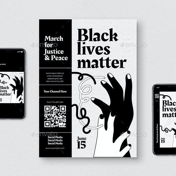 Black Live Matter Flyer Pack