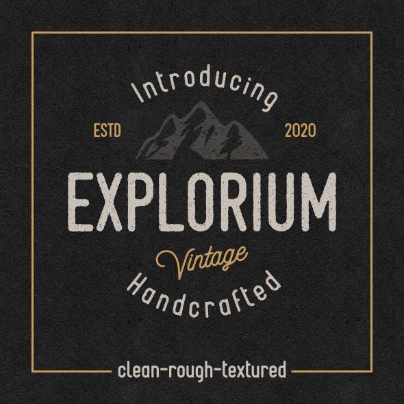 Explorium Font