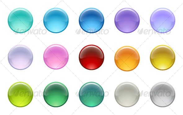 Glass Orbs 2 - Decorative Vectors
