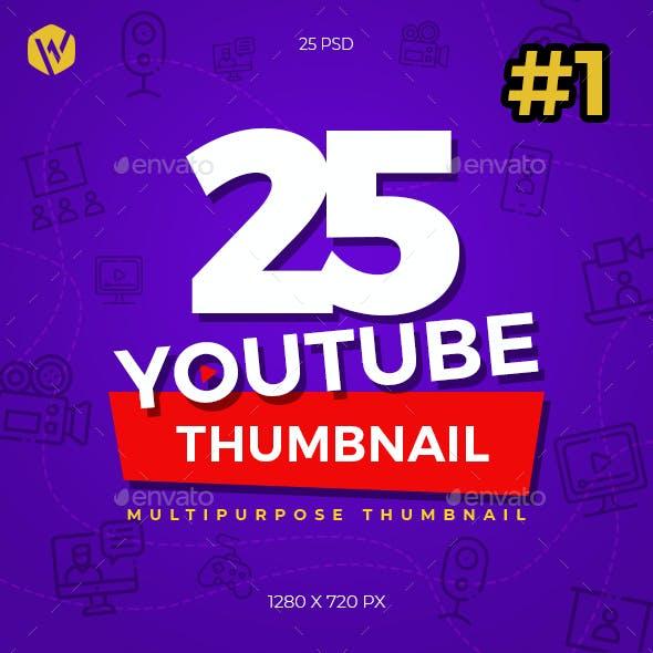 25 Youtube Thumbnail