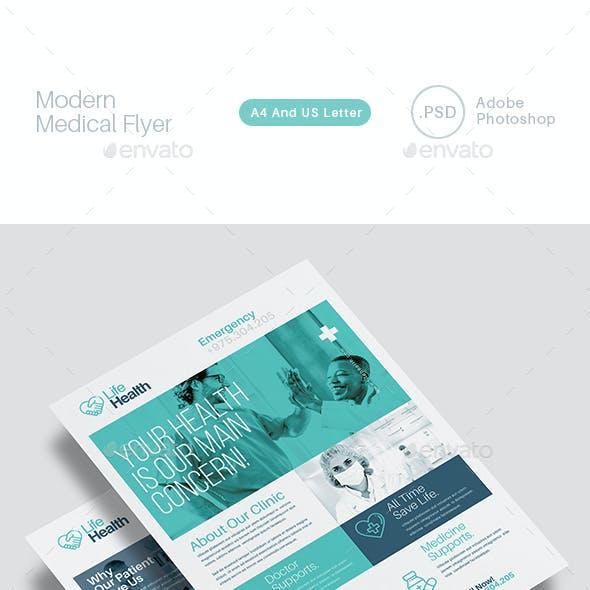 Modern Medical Medical Flyer Templates
