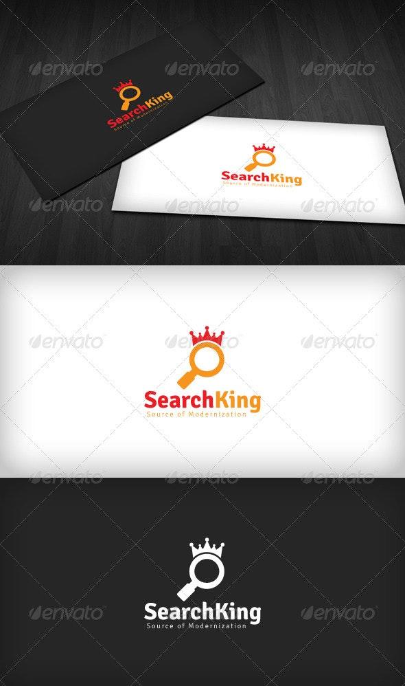 Search King Logo - Symbols Logo Templates