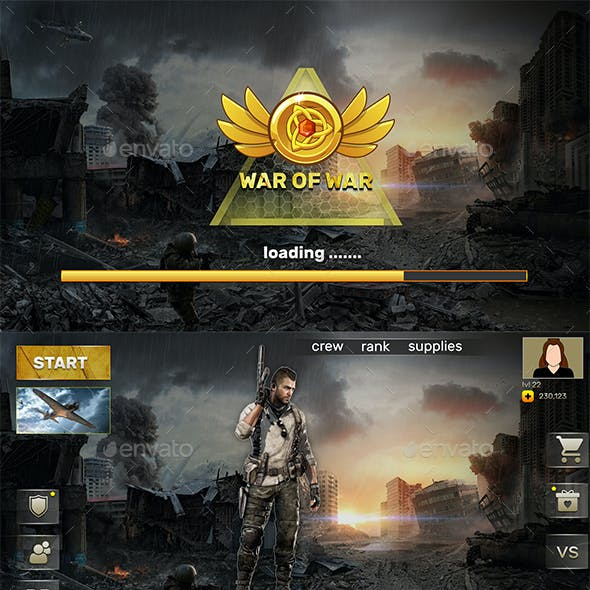 FPS Game UI