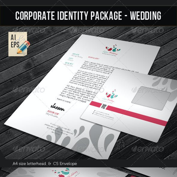 Corporate Identity Package - Wedding Planner
