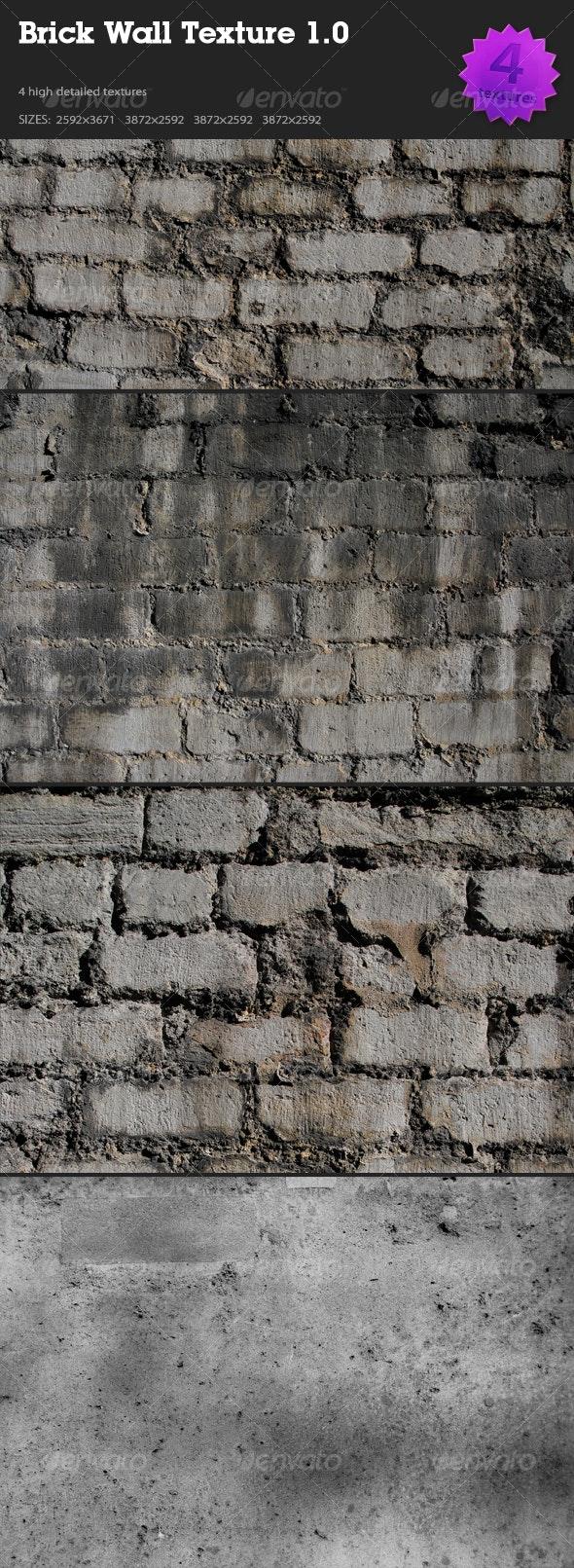 Brick Wall Texture 1.0 - Stone Textures