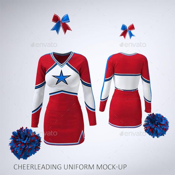 Cheerleading Uniform Mock-Up