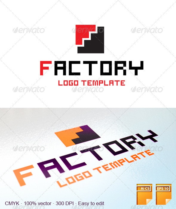 Factory Logo - Letters Logo Templates