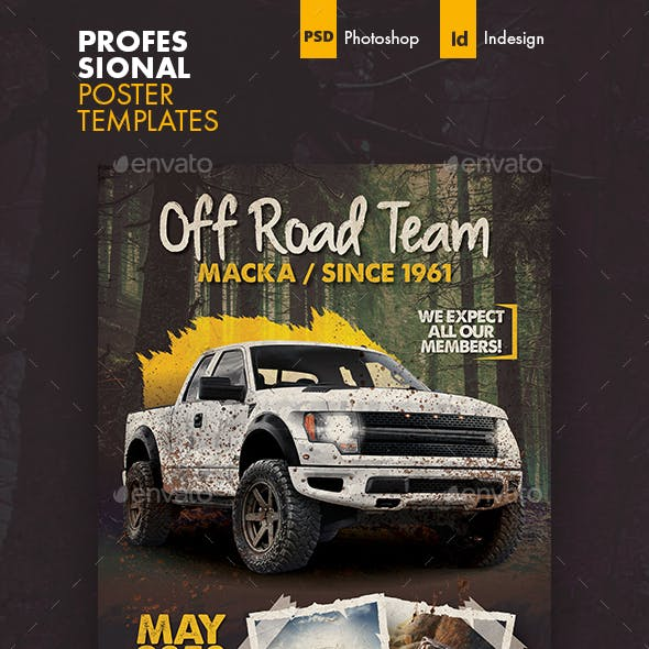 Off Road Poster Templates