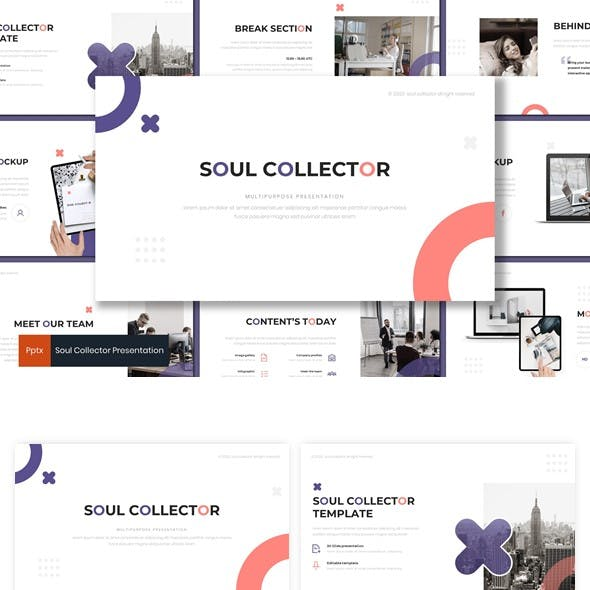 Soul Collector - Powerpoint Template