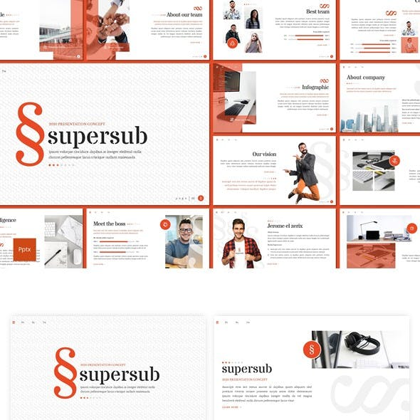 Supersub - Powerpoint Template