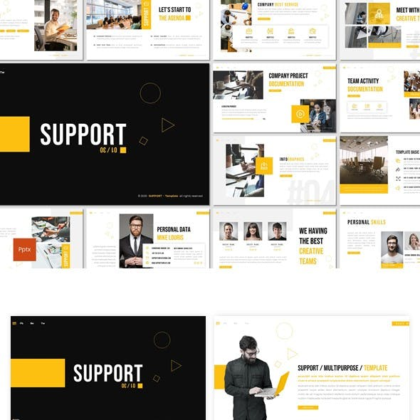 Support - Powerpoint Template