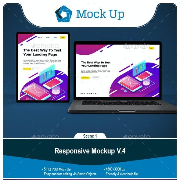 Responsive Mockup V.4