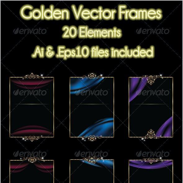 Golden Vector Frames