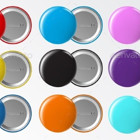 Circle Button Badges