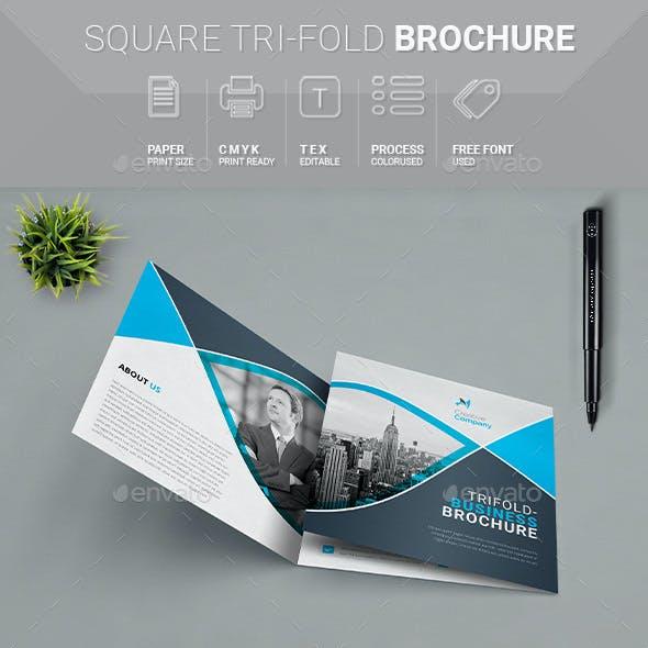 Square Tri_fold Brochure