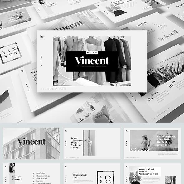 Vincent PowerPoint Presentation