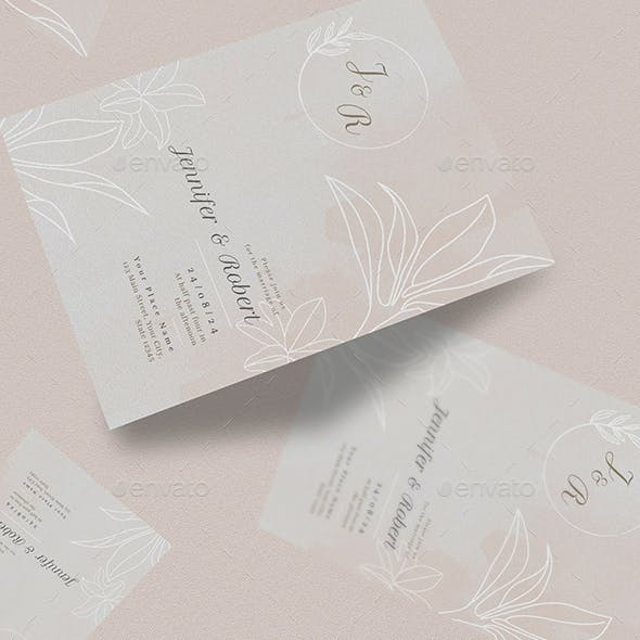 Wedding Suite Invitation Pack