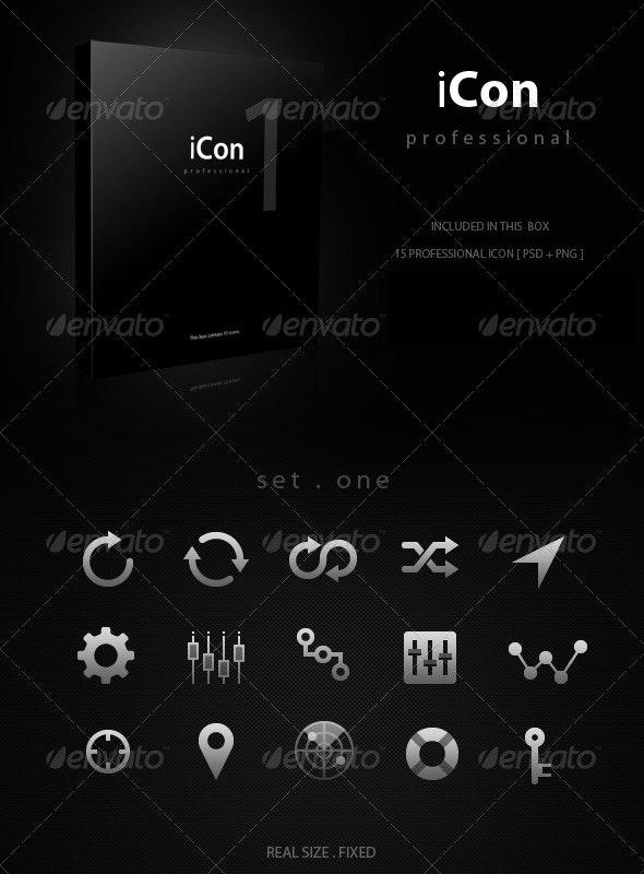 iCon Pro Volume 1 - Web Icons