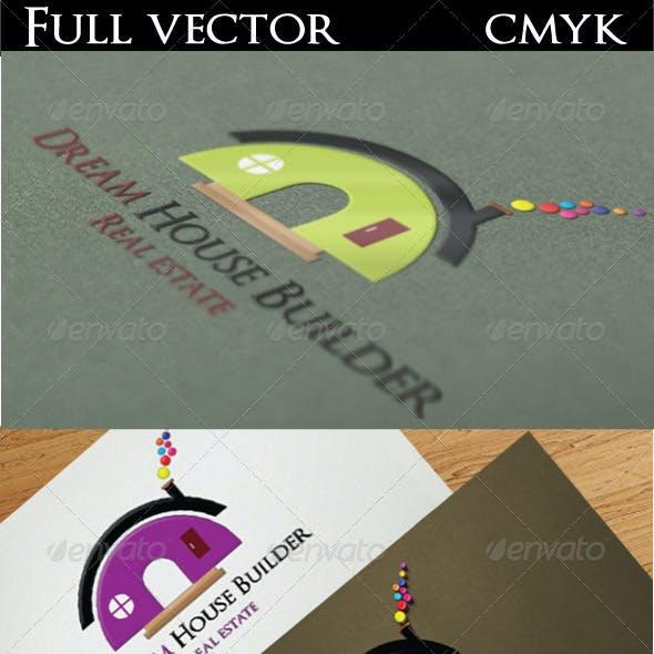 Dream House Builder Logo
