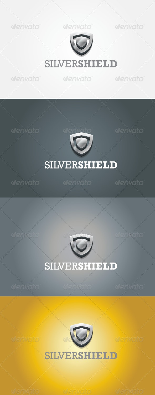 Silver shield - Symbols Logo Templates