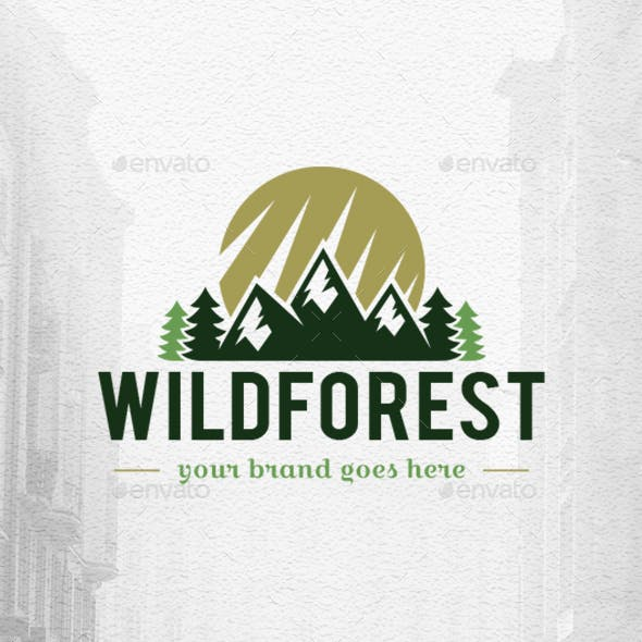 Wild Forest Logo Template