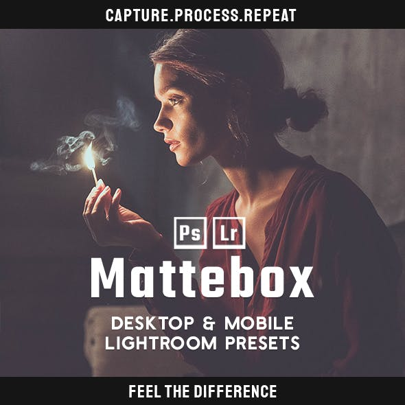Matte - Desktop & Mobile Lightroom Presets