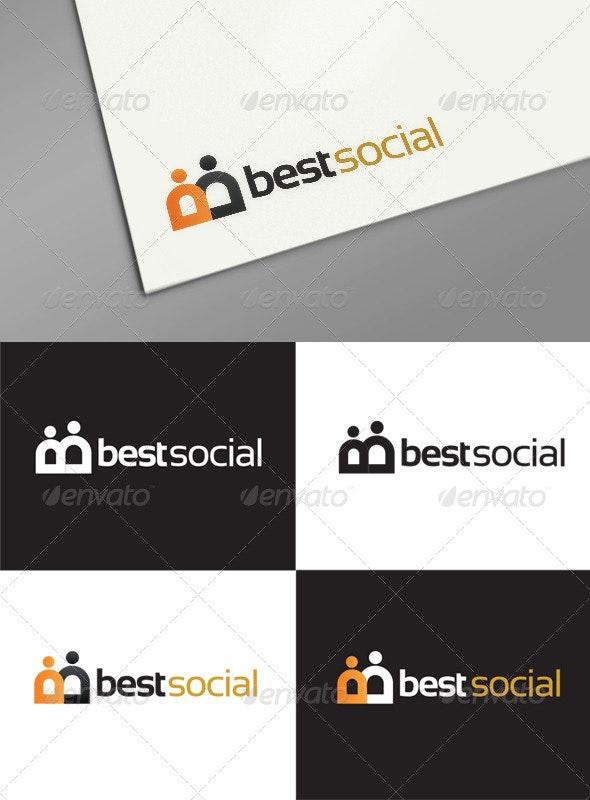 Best Social Logo Templates - Letters Logo Templates