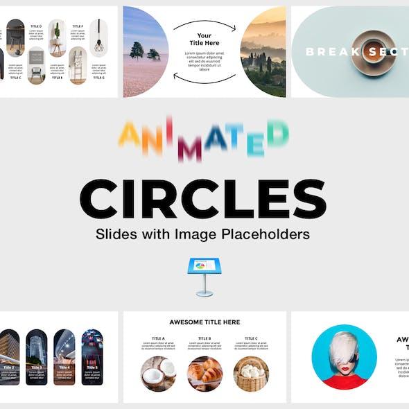 Circles - Animated Slides for Keynote Presentation