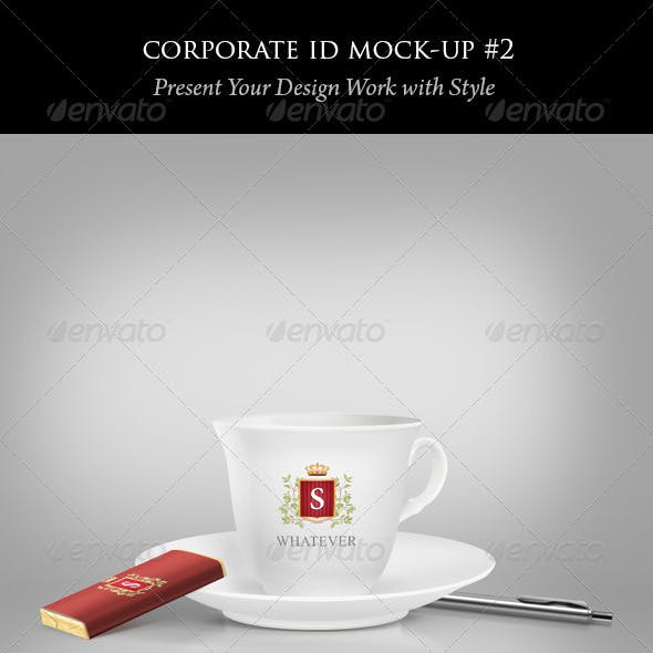 Coffee Cup and Chocolate Mock-ups