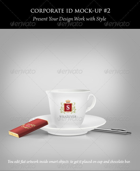 Coffee Cup and Chocolate Mock-ups - Food and Drink Packaging
