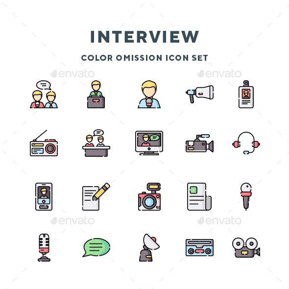 Interview Icons
