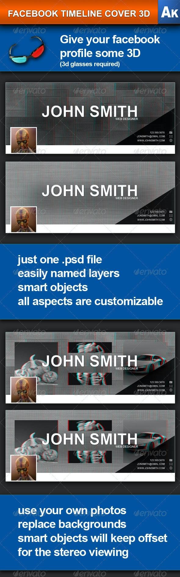 Facebook Timeline Cover 3D - Facebook Timeline Covers Social Media