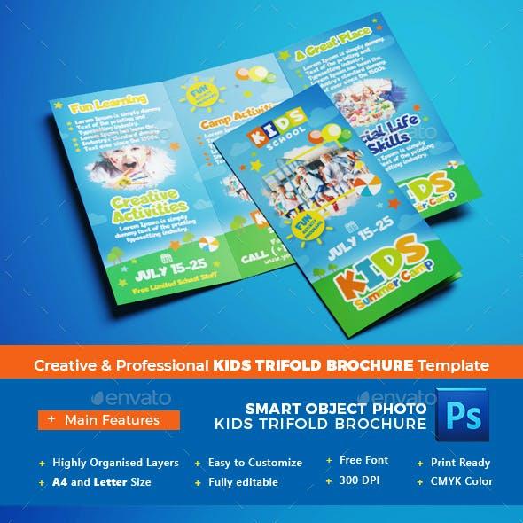 Kids Trifold Brochure