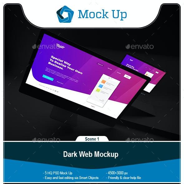 Dark Web Mockup
