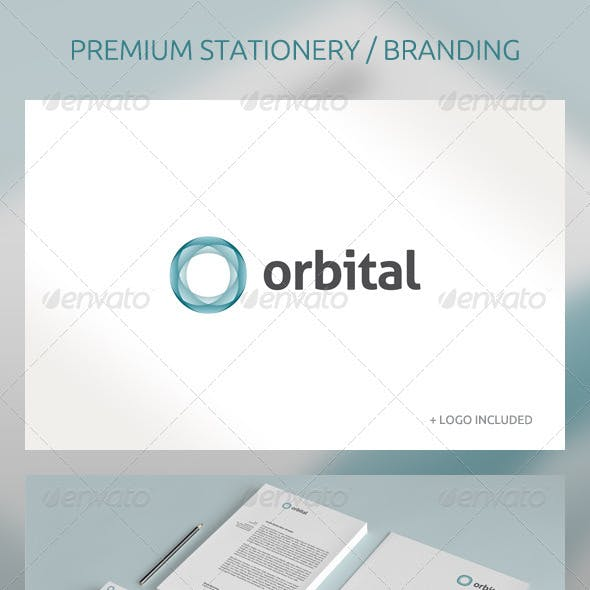 Orbital - Abstract Corporate Identity