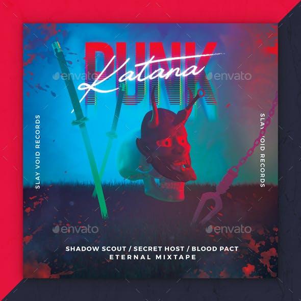 Katana Punk Album Cover