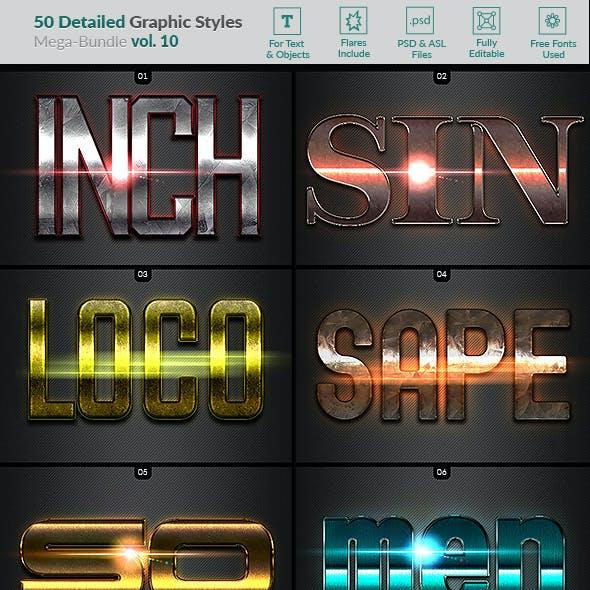 50 Text Effects - Bundle Vol. 10