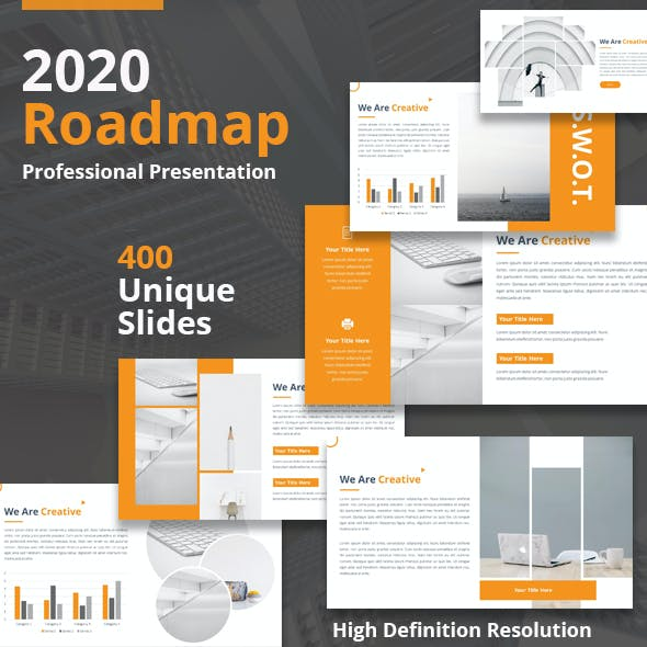 2020 Roadmap - Multipurpose Keynote Template