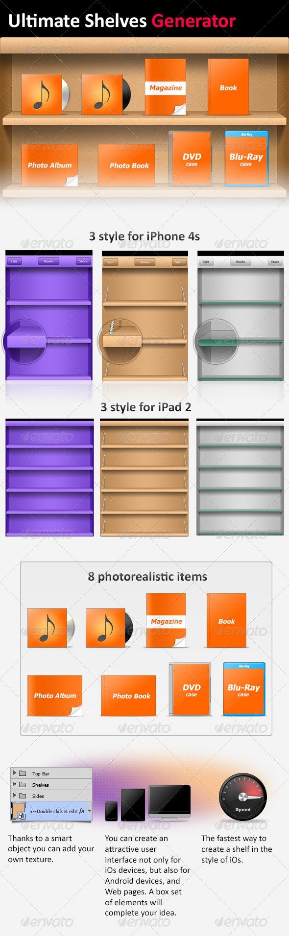 Ultimate Shelves Generator - Miscellaneous Web Elements