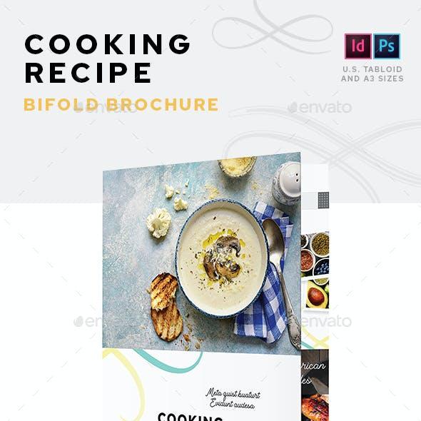 Cooking Recipe Bifold Brochure