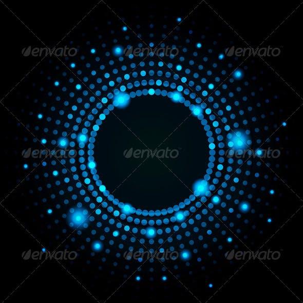 Abstract circle lights
