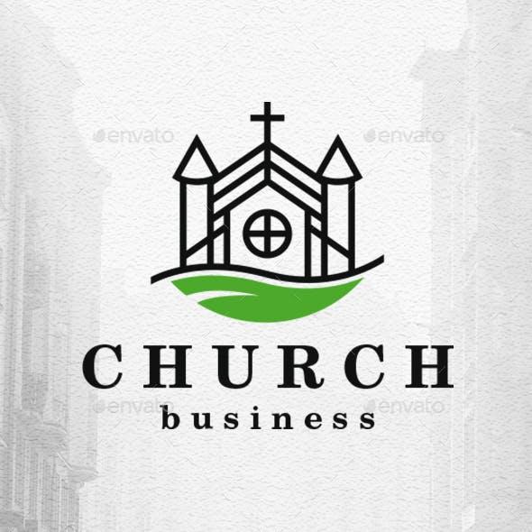 Eco Church Logo Template