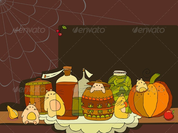 Rodent Closet Provisions - Animals Characters