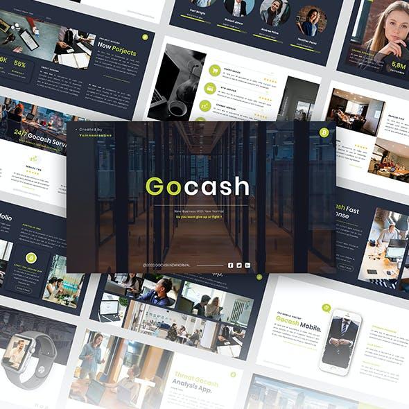 Gocash - Finance PowerPoint Template