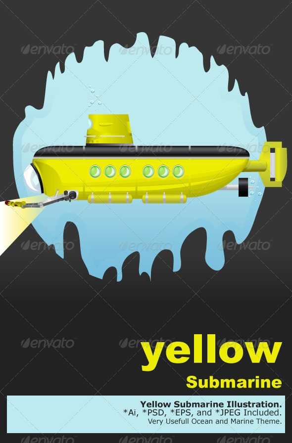 Yellow Submarine - Landscapes Nature