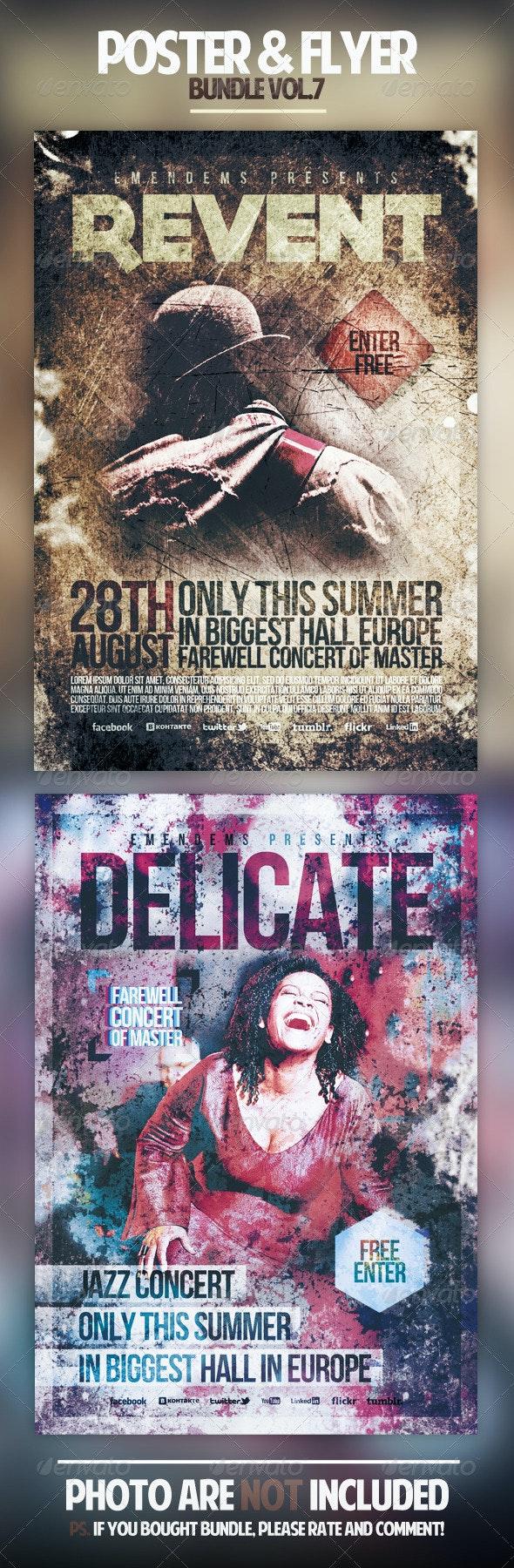Poster & Flyer Bundle Vol.7 - Miscellaneous Events