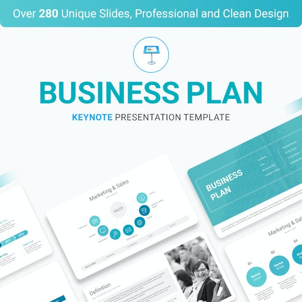 Business Plan Keynote Presentation Template